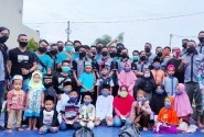 CBR Club Indonesia Jember Gelar Baksos Salurkan Bantuan Untuk Anak Yatim