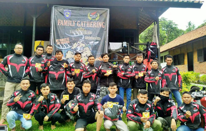 Family Gathering KCI Bogor Kota ke Pelabuhan Ratu Perkuat Rasa Persaudaraan