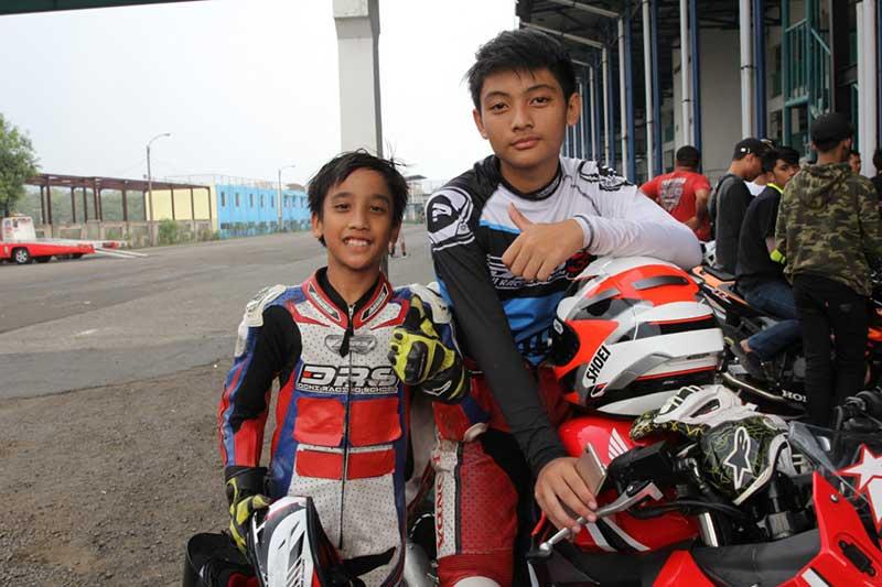 Haykal dan Zachry Pebalap Termuda Honda CBR Raceday 2018