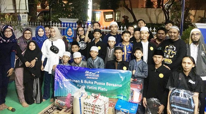 CCI Jakarta Gelar Baksos Usung Tema Bikers Sejati, Memberi Dari Hati