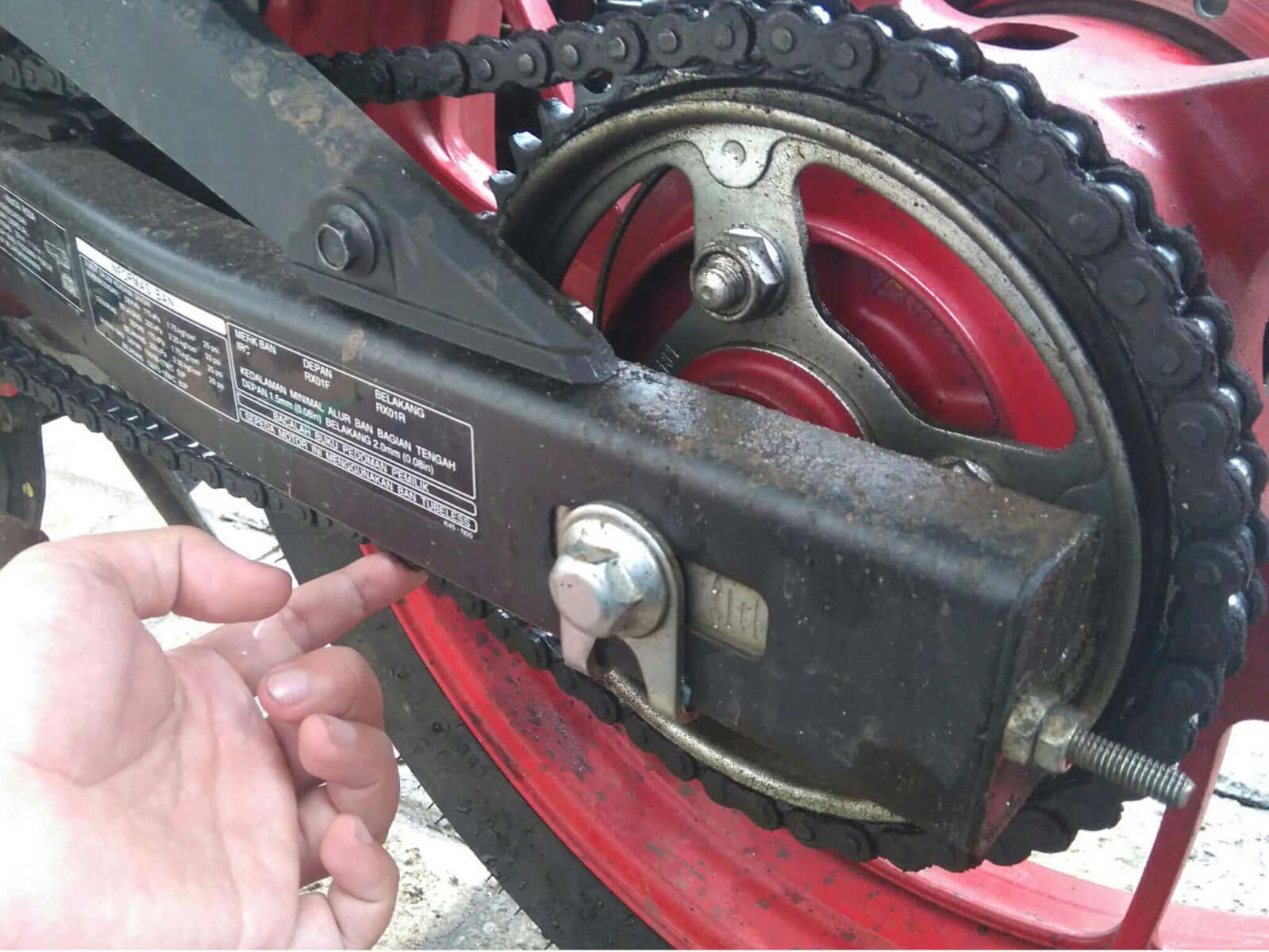 Tips Jitu Merawat Rantai Honda CBR 150R