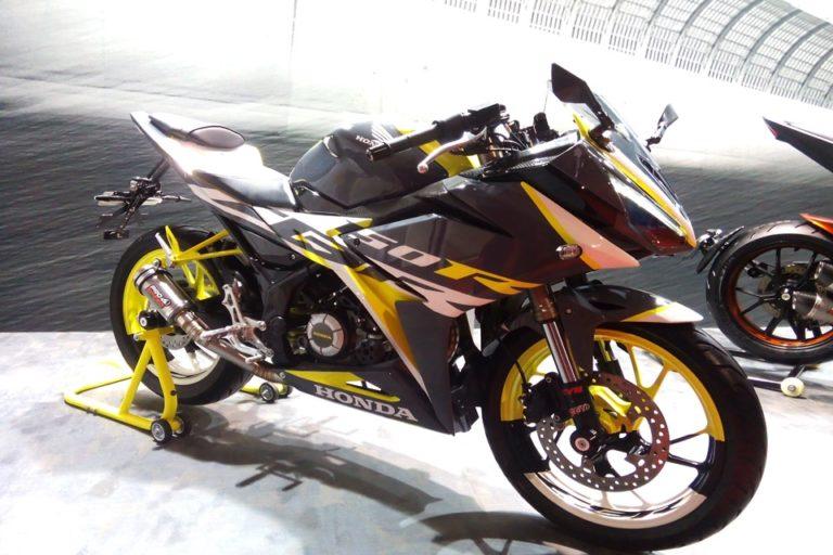 Foto-Foto Racy Honda CBR 150R, Ciamik Dengan Sentuhan Sedikit Modif