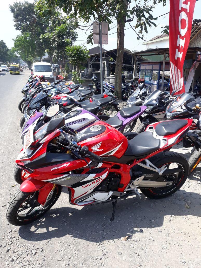 Ratusan Bikers Honda Kumpul Bareng di Muntilan