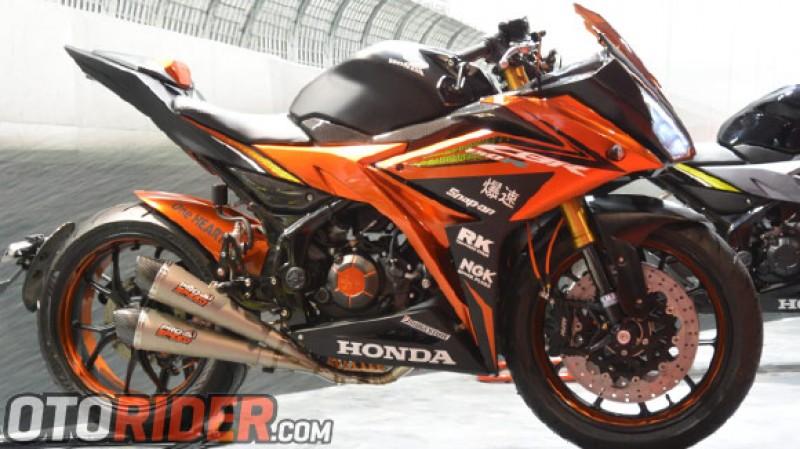 Honda CBR150R Dimodifikasi Gaya Moge