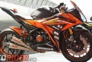 Modifikasi Honda All New CBR150R 2016, Tampil Eksklusif Bergaya Moge